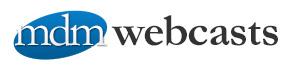 mdm webcasts